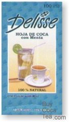 Delisse Coca Tea with Mint (100 Tea Bags)