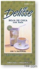 Delisse Coca Tea with Anise (100 Tea Bags)