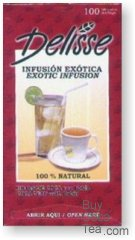 Delisse Exotic Infusion - Coca Leaf with Boldo (100 Tea Bags)