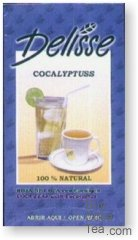 Delisse Cocalyptuss - Coca Leaf with Eucalyptus (100 Tea Bags)